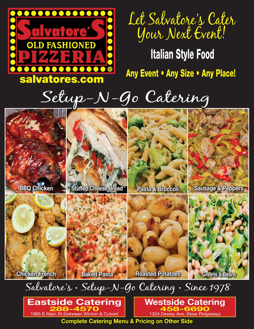 Salvatore's Catering Rochester NY