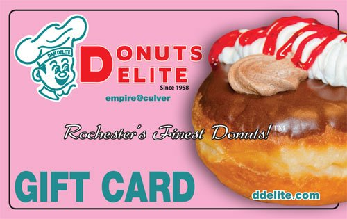Donuts Delite Gift Card
