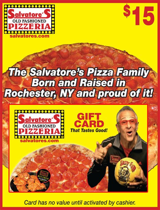 Salvatore's Pizza Gift Card